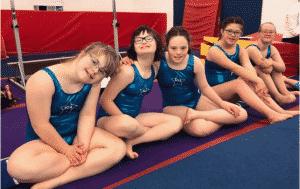 I comcorrenti alle Special Olympics