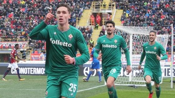 Chiesa decise il derby tra Bologna e Fiorentina lo scorso anno