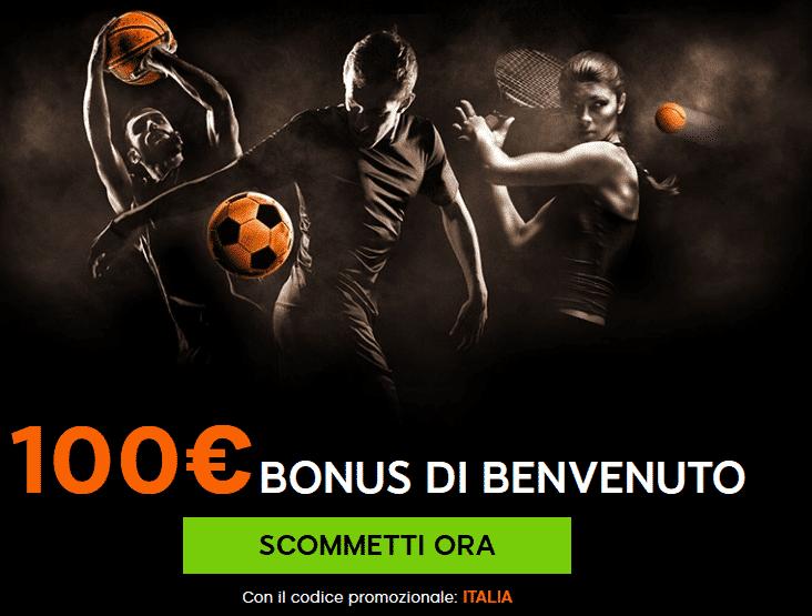 Bonus di Benvenuto di 888sport