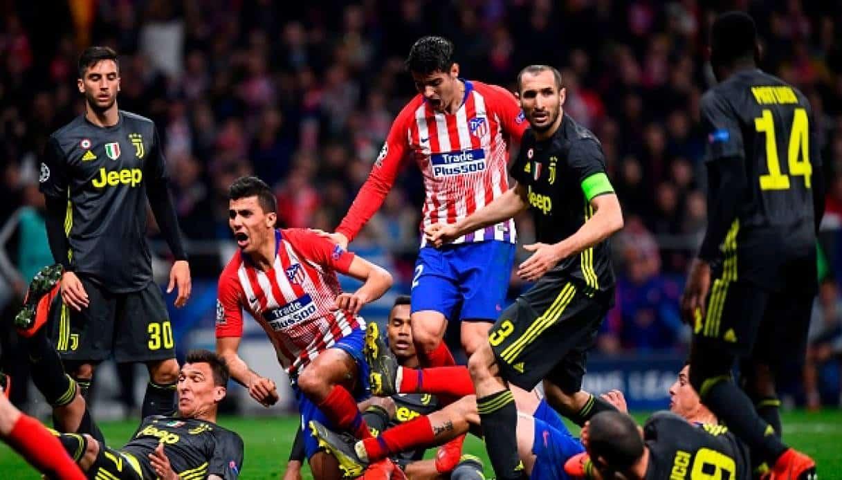 Juventus - Atletico Madrid: la partita di andata