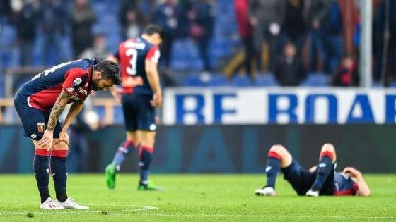 Lotta retrocessione: il Genoa rischia grosso
