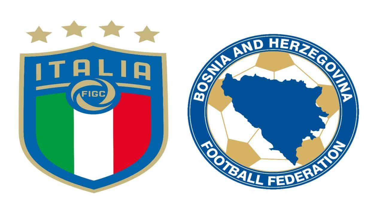 Martedì 11 giugno l'Italia affronterà la Bosnia Erzegovina