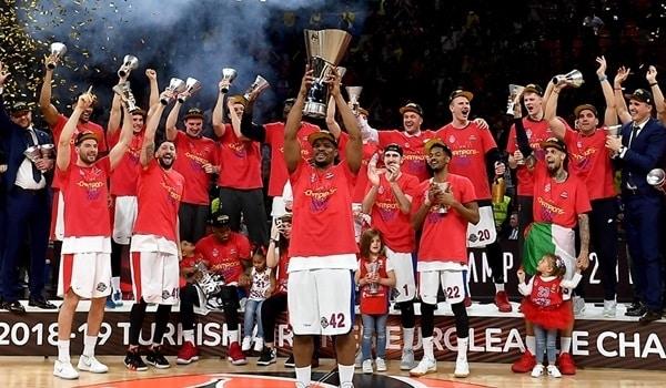 Il CSKA ha vinto l'Eurolega 2019