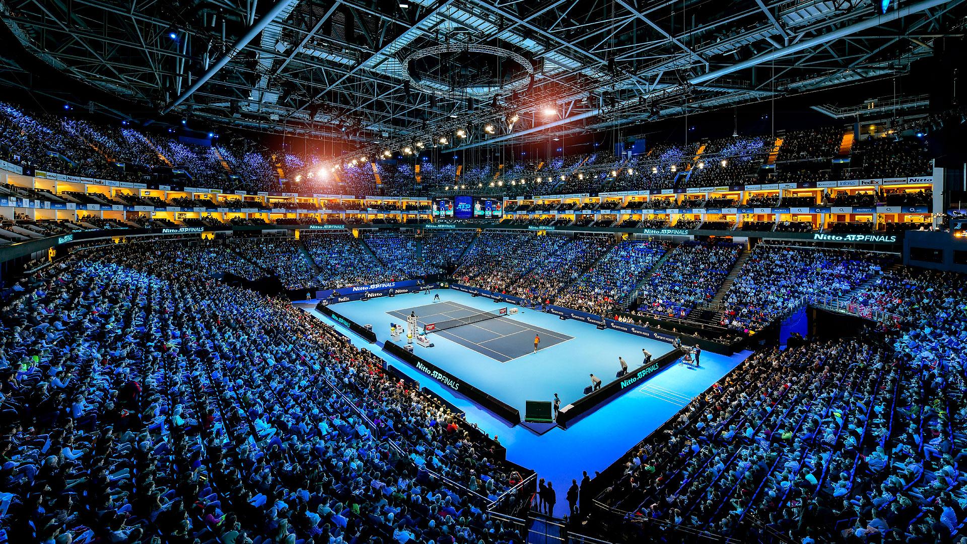 E' tutto pronto per le ATP Finals 2019