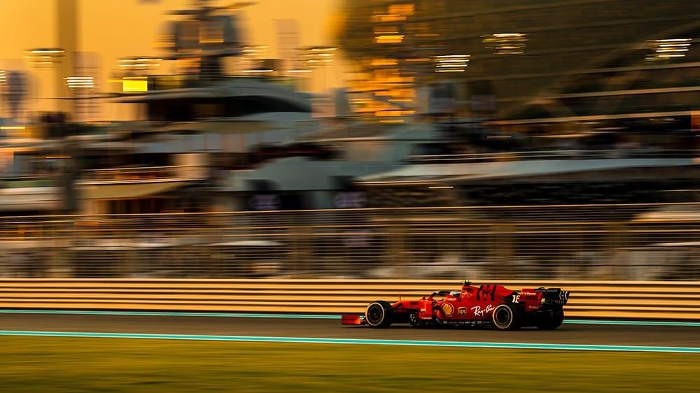 La Ferrari cerca il successo nel GP di Abu Dhabi