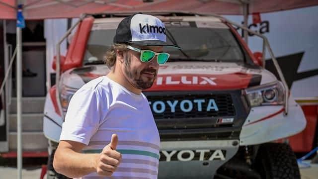 Fernando Alonso alla Dakar 2020