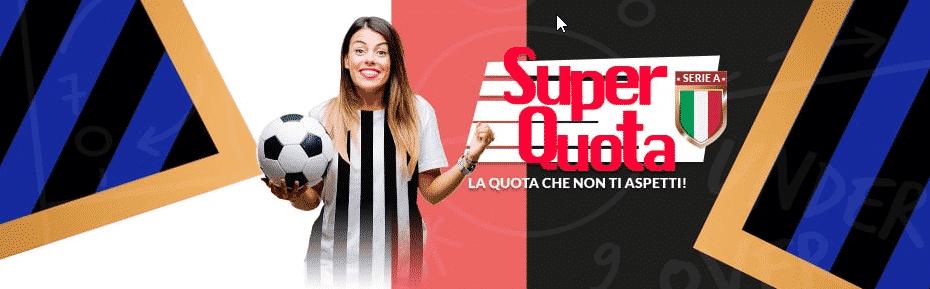 Eurobet propone una superquota per Juventus-Inter