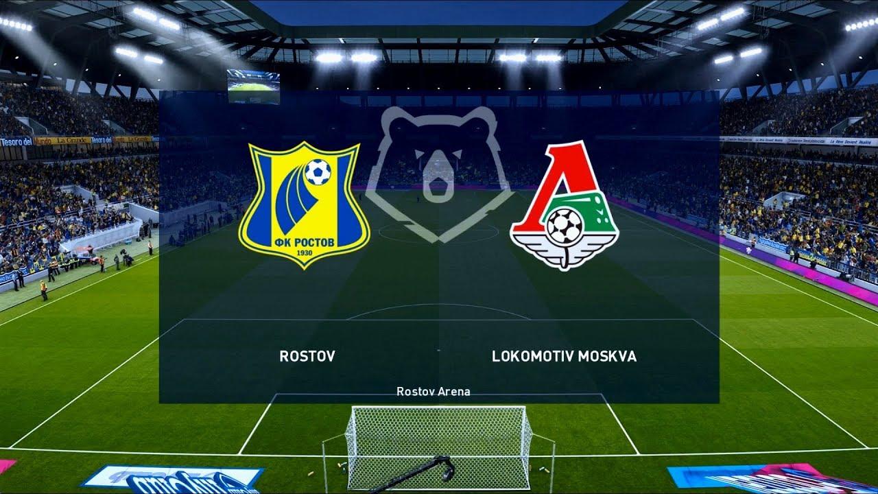 Rostov - Lokomotiv Mosca