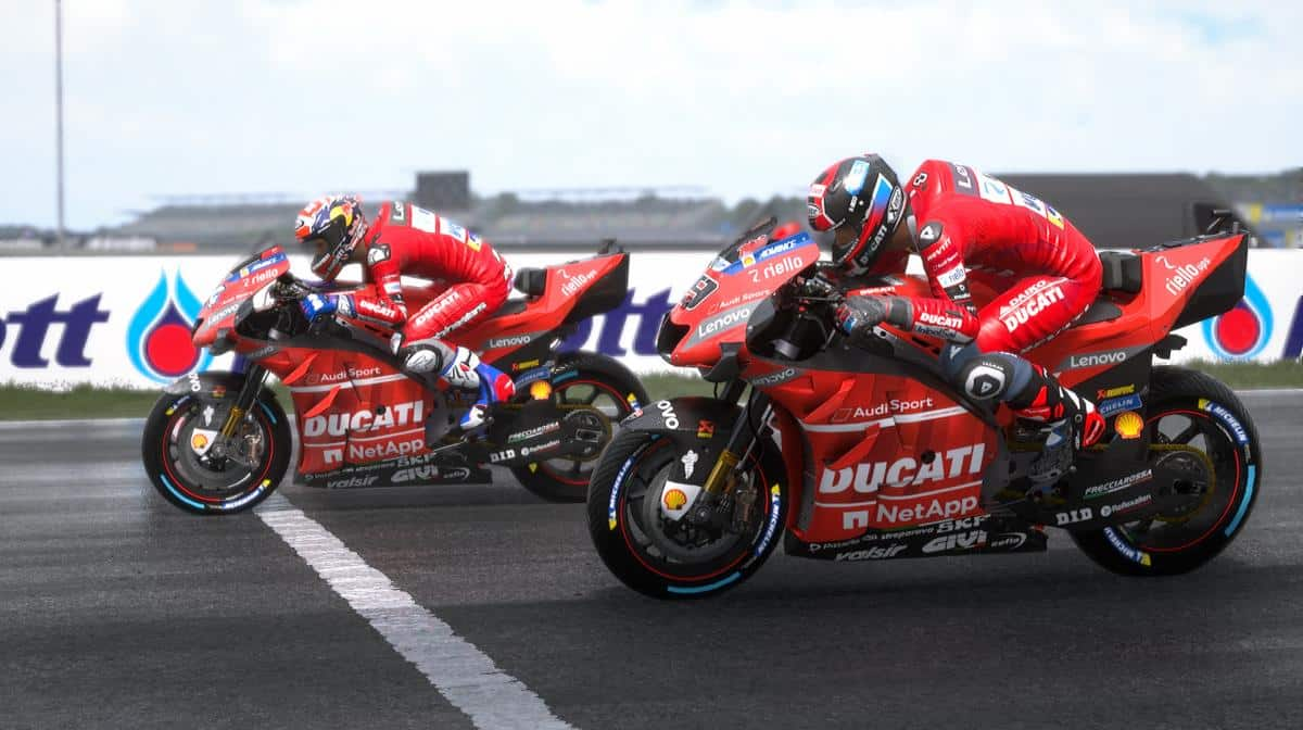 Ducati Team : Danilo Petrucci, Michele Pirro