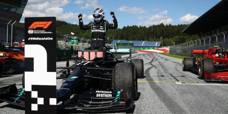 Bottas ha vinto la prima gara stagionale