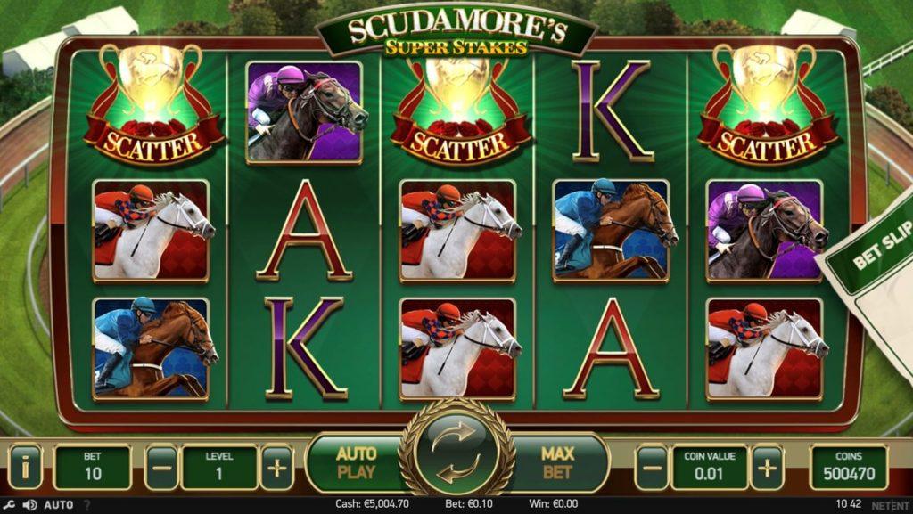 Scudamore's Super Stakes screenshot