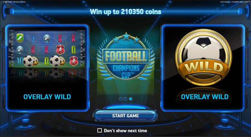 bonus Champions Cup Slot