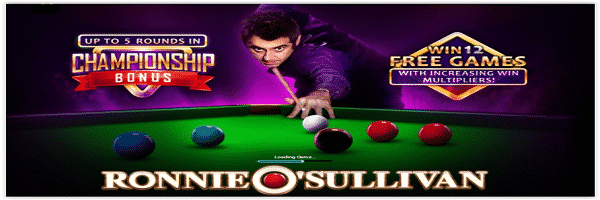 Ronnie O'Sullivan Sporting Legends slot machine gratis