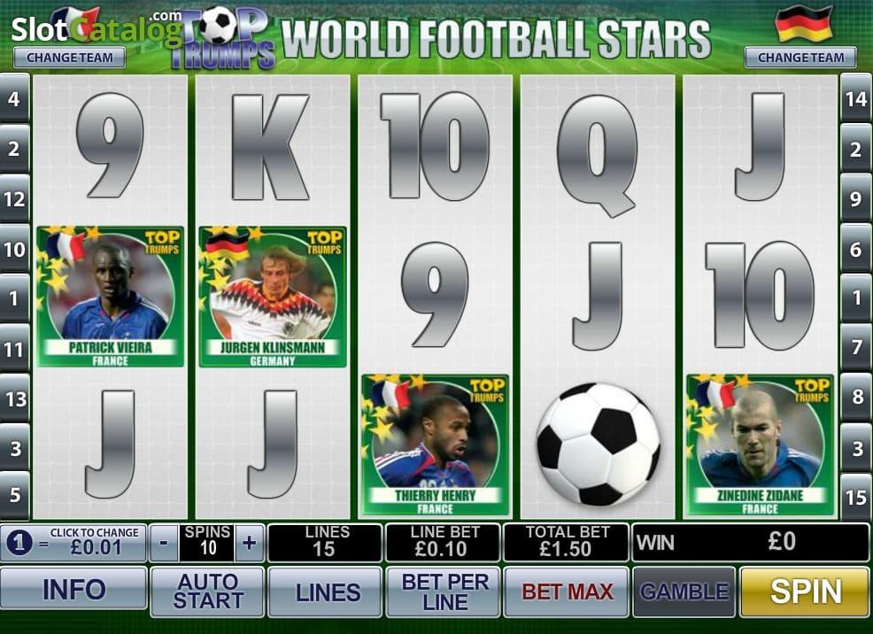 Top-Trumps World Football Stars screenshot