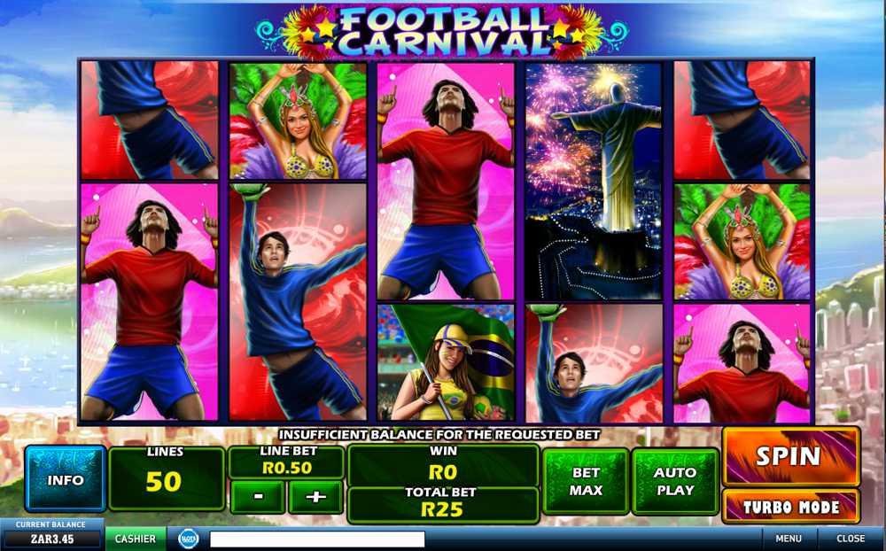 Football Carnival Slot Machine screenshot