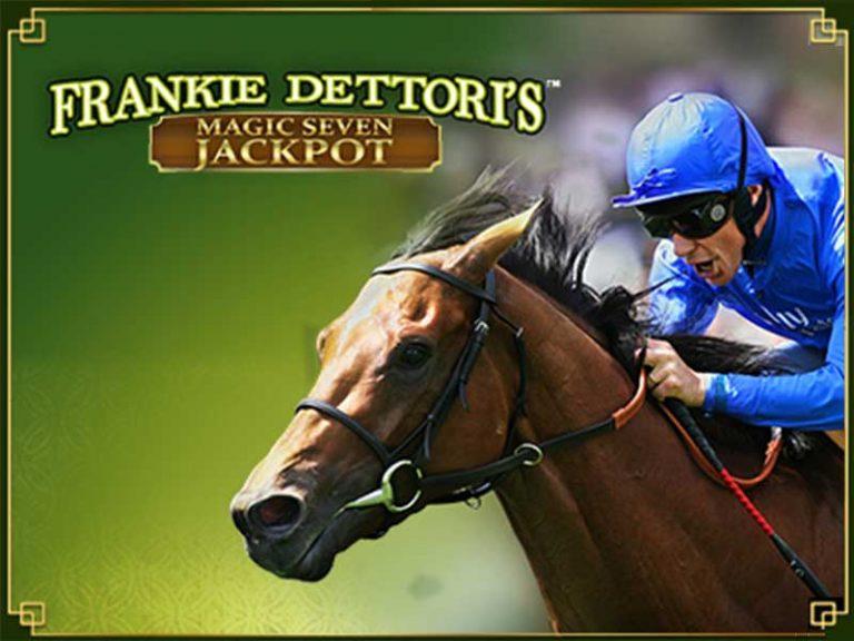 Frankie Dettori magic seven jackpot slot machine