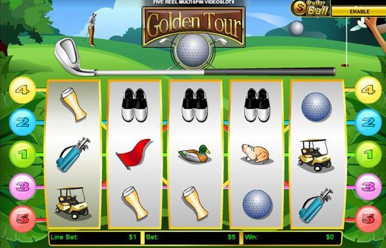 la slot golden tour