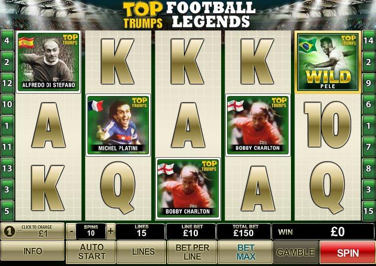top trumps football legends slot screenshot