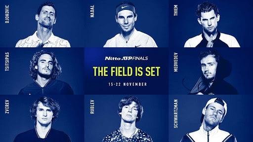 ATP Masters 2020: i protagonisti