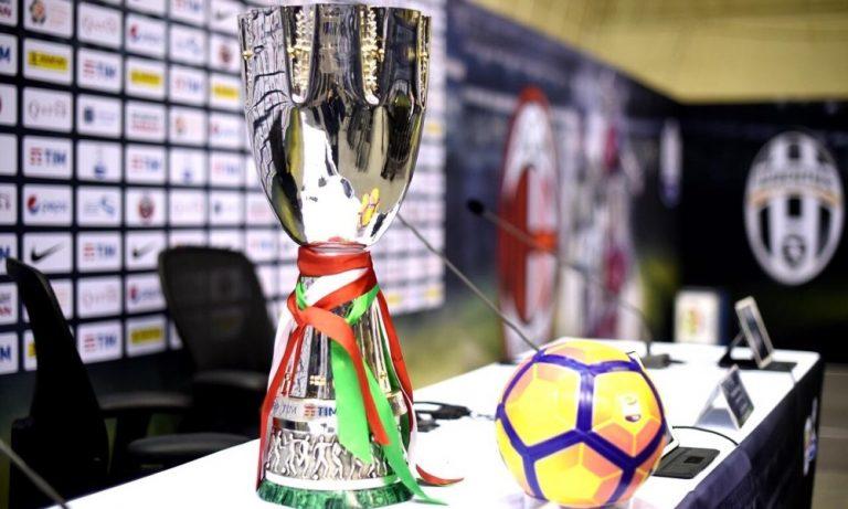 Juventus–Napoli per la Supercoppa