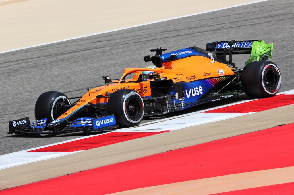 Daniel Ricciardo in McLaren