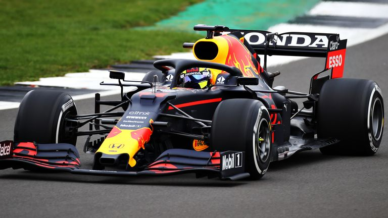 Sergio Perez su Red Bull