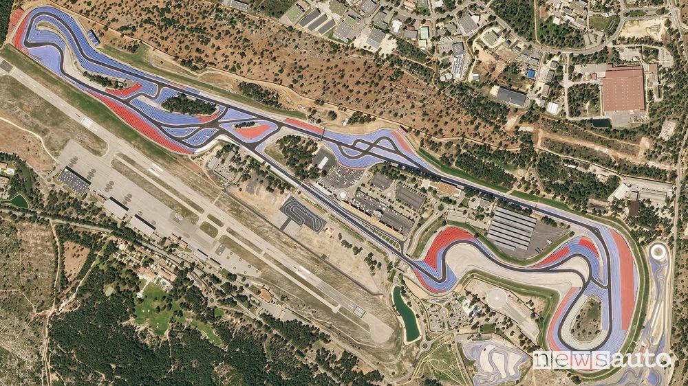 Il circuito del GP di Francia