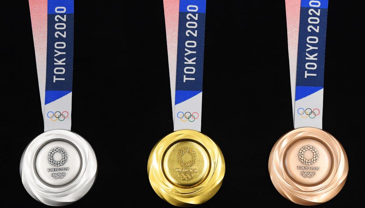 Le medaglie di Tokyo 2020
