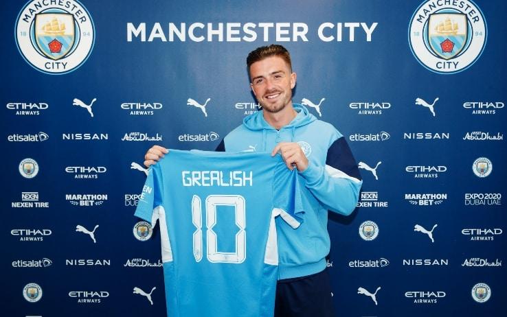 Jack Grealish, acquisto del Manchester City